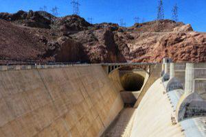 Hoover Dam Spillways